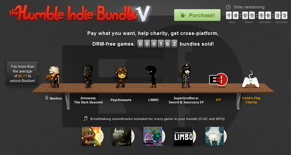 Amnesia: The Dark Descent & LIMBO, among other games, available in the newest Humble Bundle