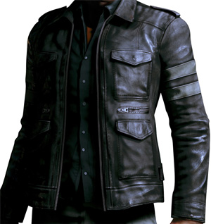 Leon Kennedy leather jacket. BlingSoul. Review. - YouTube