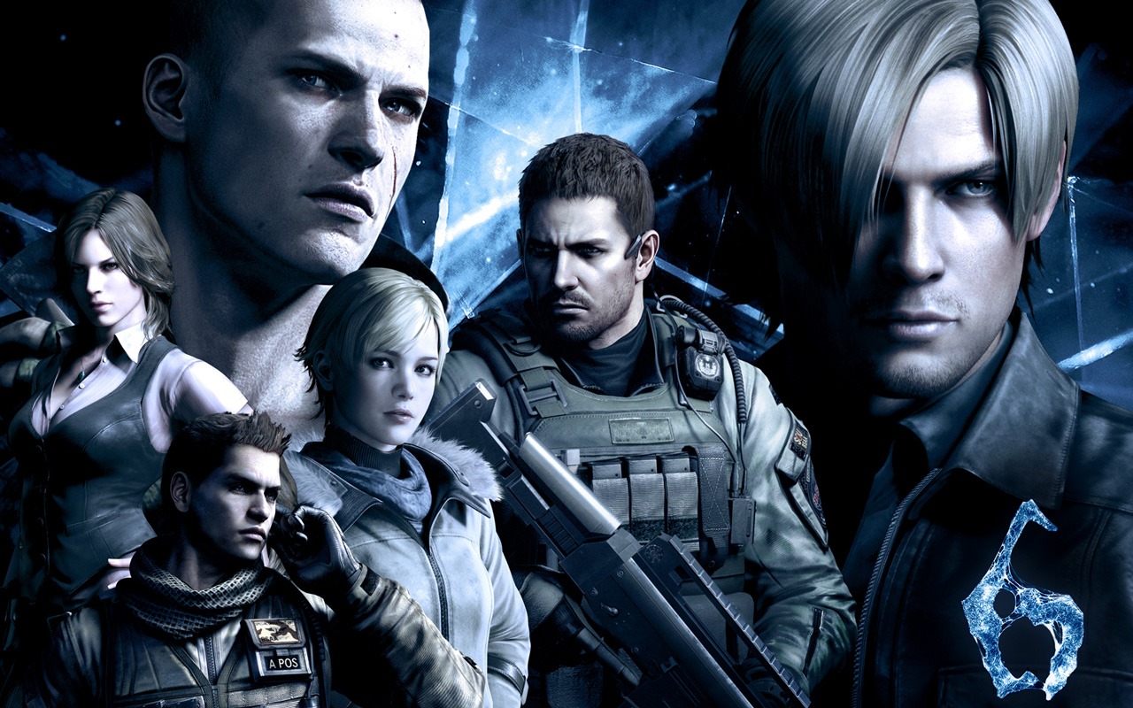 Jill Valentine And Claire Redfield Not In Resident Evil 6 Rely On