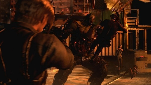 First Resident Evil 6 PS3 footage, subway & crossover boss fight gameplay