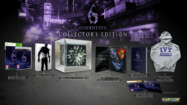 No Collector's Edition RE6 in US, Capcom offers reasoning