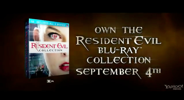 Resident Evil: Retribution's new trailer is all about Alice; Blu-ray collection due September 4th