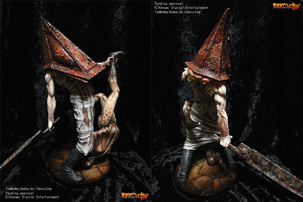 Toymunkey's Pyramid Head figure is a thing of beauty
