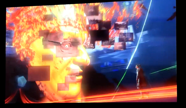 DmC gameplay shows Dante fighting demonic, conservative news network