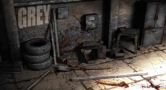 Grey, a new source horror mod