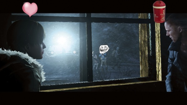 Gamescom 2012: New Resident Evil 6 screens show Jake & Sherry's romantic snowy date