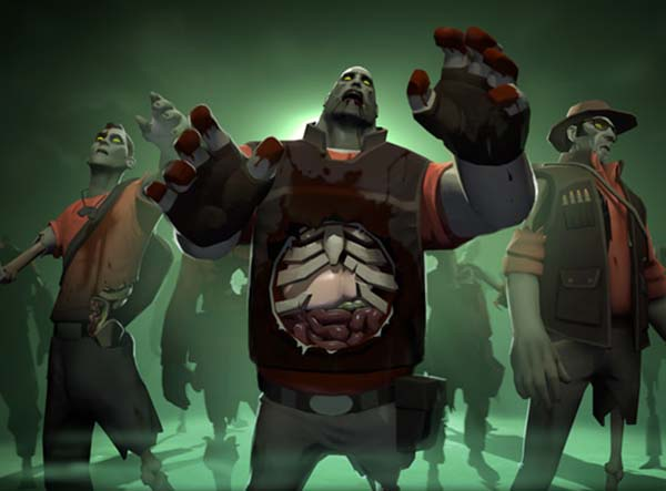 Valve celebrates Halloween with Team Fortress and Left 4
