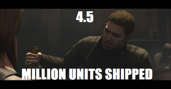 Resident Evil 6 sees the biggest shipment number in Capcom's history