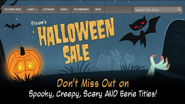 Steam's Halloween Sale is on!