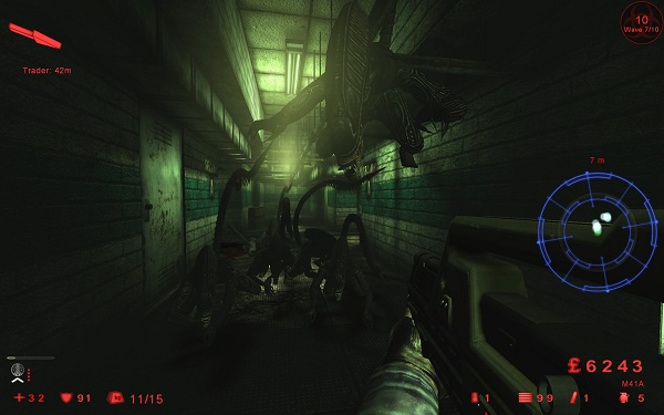Aliens total conversion mod for Killing Floor looks mighty impressive
