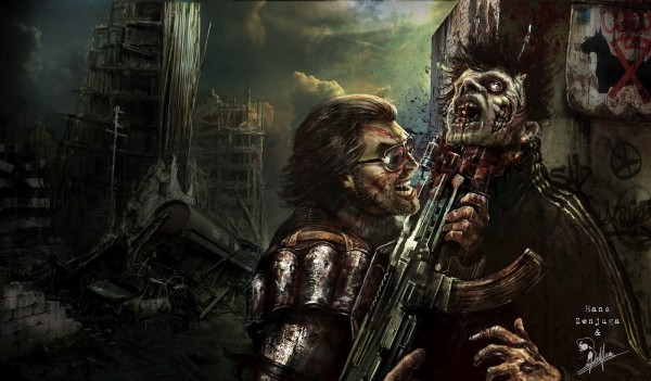 Concept images of cancelled Dead Nation 2, The Walking Dead games from Housemarque