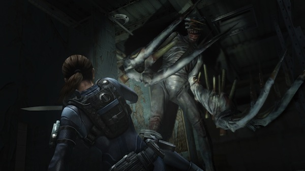 Celebrate Valentine's Day with some Jill-centric screenshots from Resident Evil Revelations HD!
