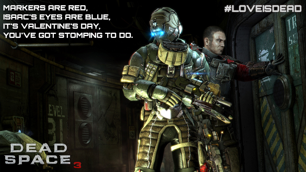Contest: Dead Space 3 celebrates Valentine's Day (Update: Winners Posted)