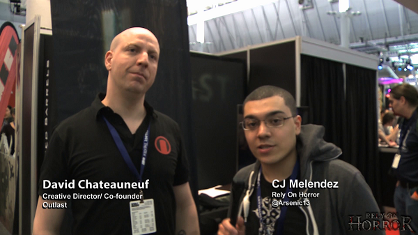 PAX Interview: Talking Outlast with David Chateauneuf