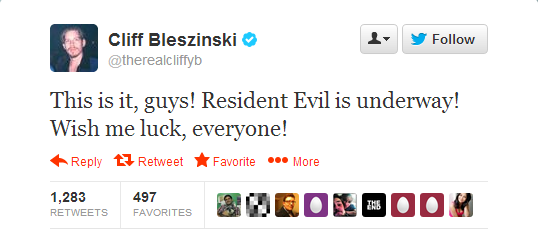 It's official, Cliff Bleszinski involved in Resident Evil 7 (April Fools!)