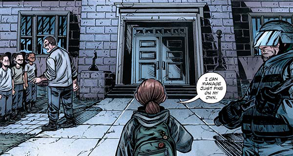 The Last Of Us American Dream 1 Comic Out Now Rely On Horror