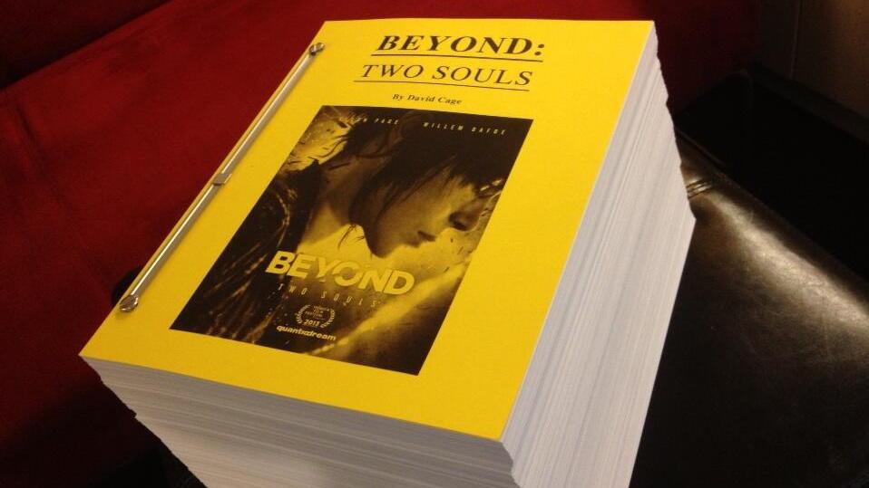 Check out Beyond: Two Souls ridiculously large script!