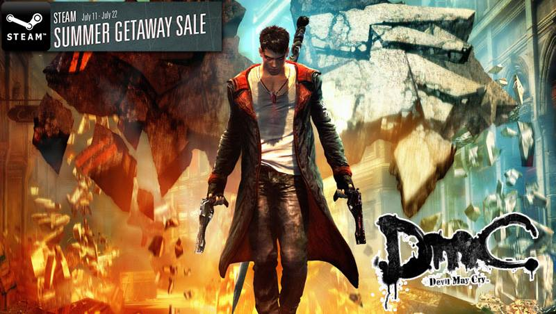 Devil May Cry fills Steam's dark soul with 50%-75% off savings