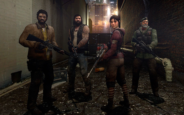 Left 4 Dead to add older character models