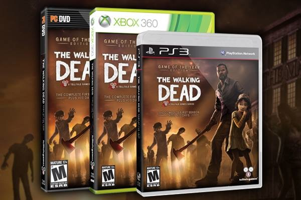 The Walking Dead: Game of the Year Edition now available!