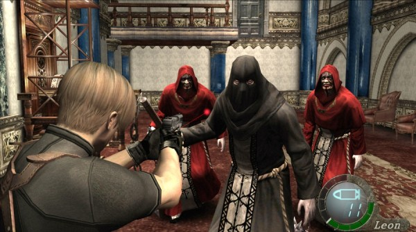Resident Evil 4's over-the-shoulder camera