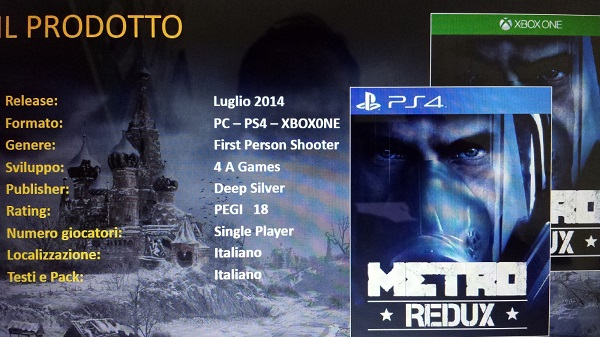 Metro Redux Confirmed, Re-release for Current-Gen and Sequel?