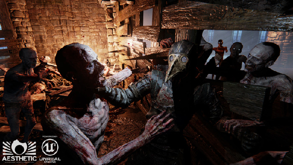 """Fight off plague victims in medieval horror game """"Dead Crusade"""""""