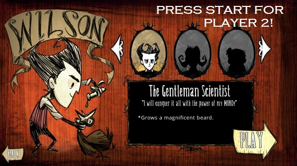 Survive with a friend in Don't Starve Together