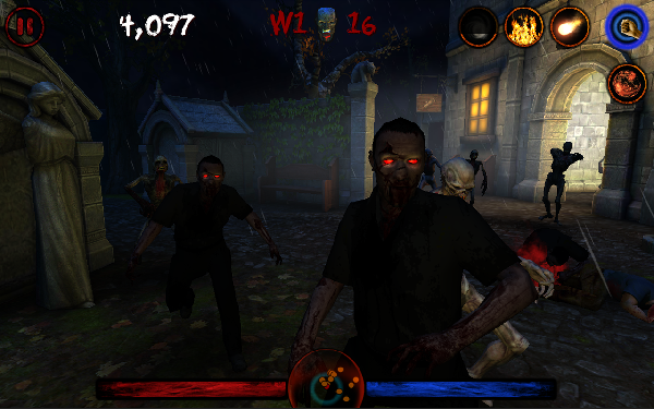 Zombie Awakening has you fight off zombies… as a mage!