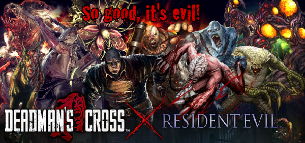 Square Enix's Deadman's Cross crosses over with Capcom's Resident Evil