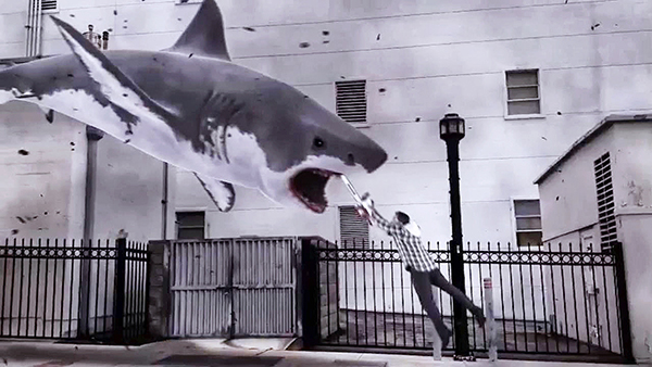 Ever wanted to kill sharks with chainsaws? Sharknado the video game will let you!