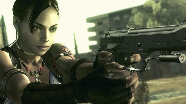 Resident Evil 5 still selling copies by the way.  STILL!