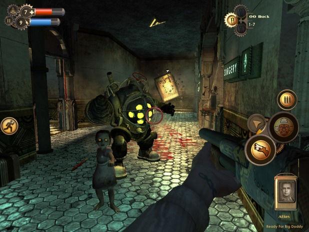 bioshock now available on ios devices rely on horror