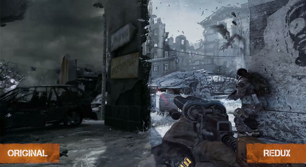 The redux in Metro Redux gets demoed in this new trailer