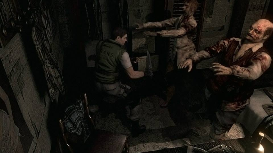 Resident Evil HD Remaster gets its first official trailer!