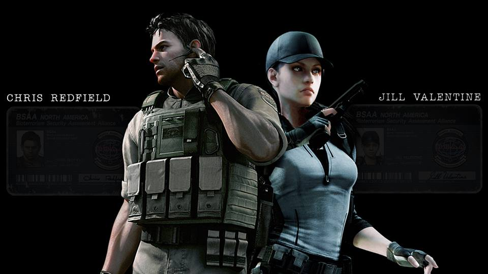 Chris and Jill will get their BSAA outfits in Resident Evil Remastered