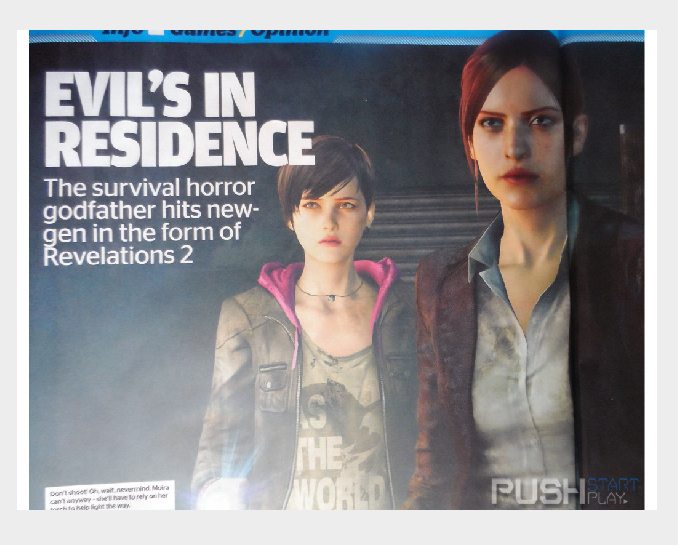 Barry's daughter and Claire confirmed for Resident Evil Revelations 2, plus new details!