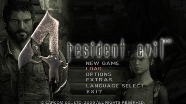 Hey, you got your The Last of Us in my Resident Evil 4