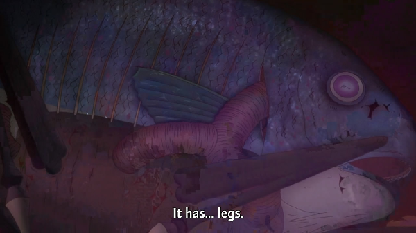 Based On A Story Written By Junji Ito A Horror Manga Artist With A Fascination For The Sea Gyo Is A Disgusting Anime Movie About Deceased Fish Leaving The