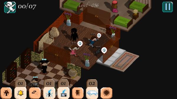 Poltergeist gameplay