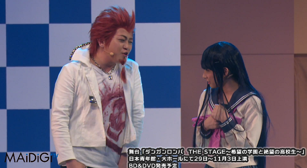 The new Danganronpa stage show is certainly something