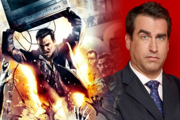 Rob Riggle is Frank West in the upcoming Dead Rising movie