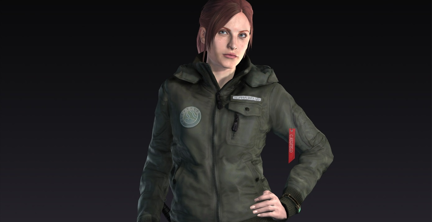 Check out Claire's TerraSave outfit from Resident Evil Revelations 2