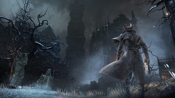 Check out this developer commentary for Bloodborne