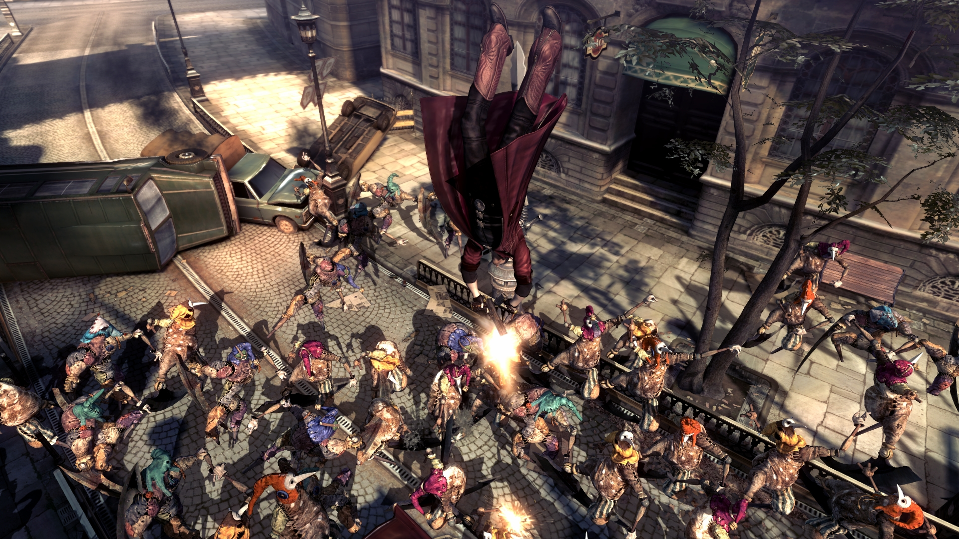 Devil may cry 4: special edition 'vergil combat overview' video.