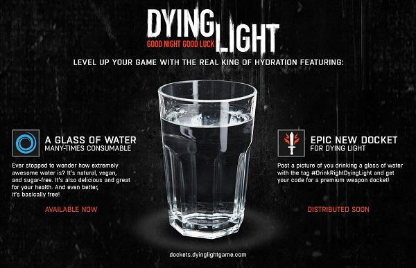 Techland takes a jab at Destiny's Red Bull Promotion (Update: Free Dying Light DLC Explained))