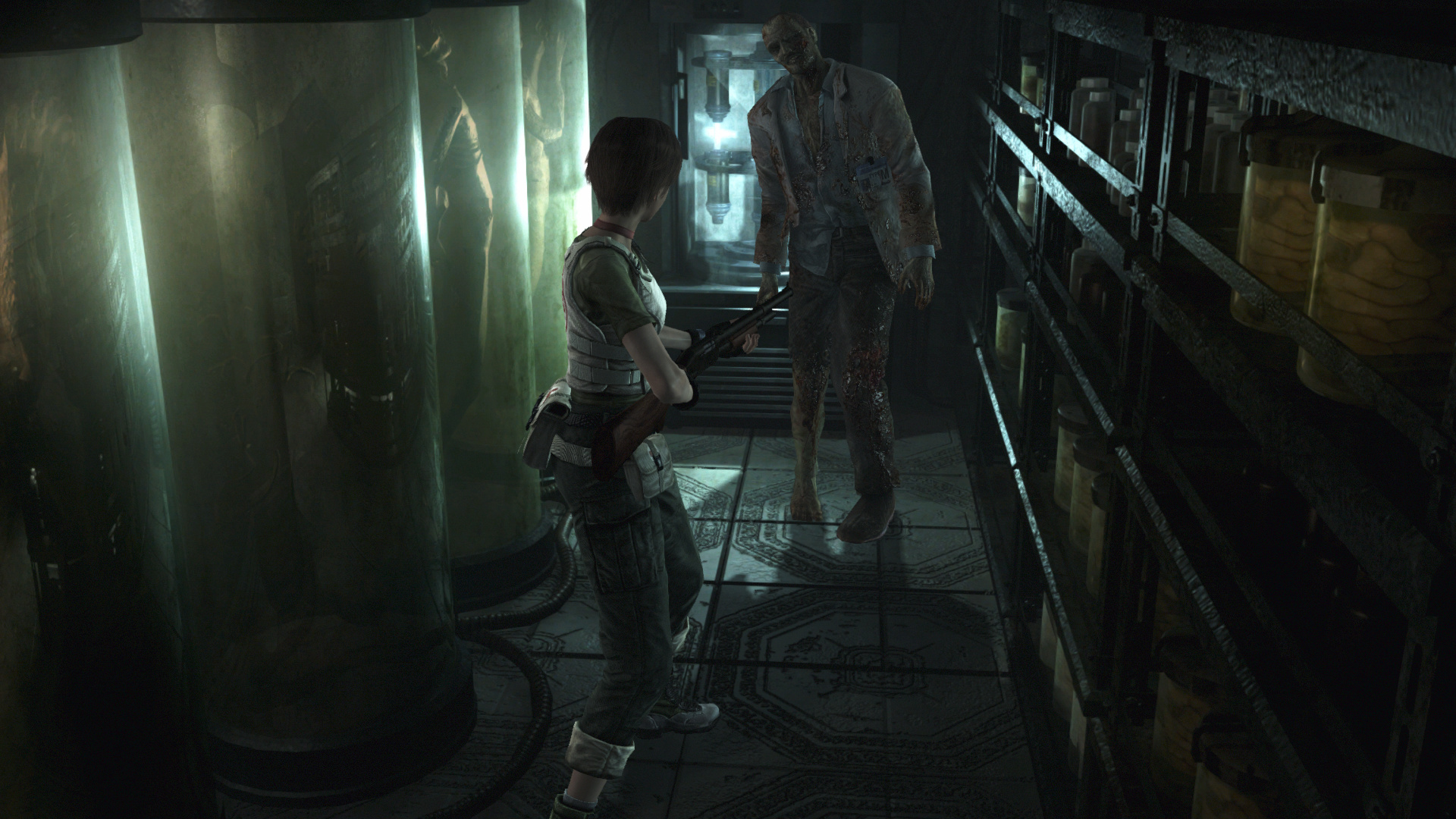 Check out new images from Resident Evil 0 HD Remaster