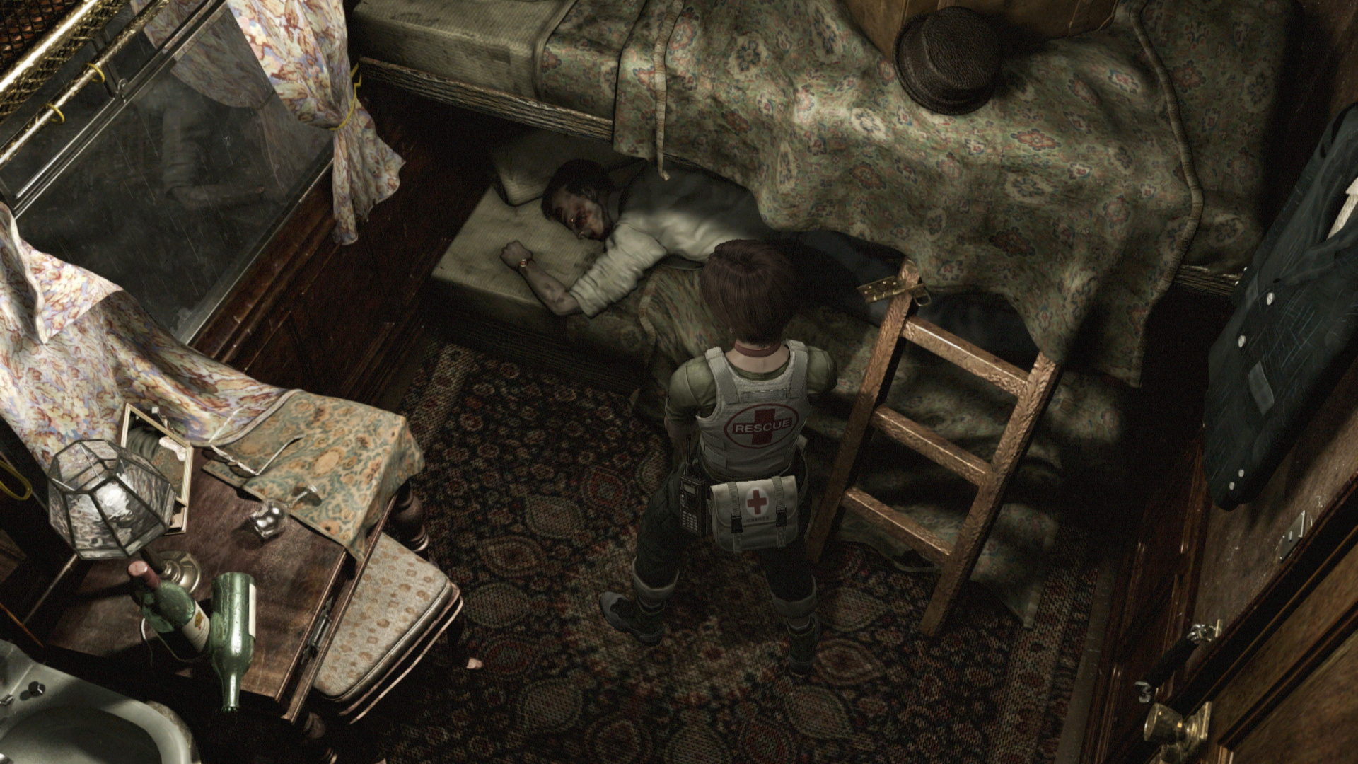 So, about Resident Evil 0's remastered visuals