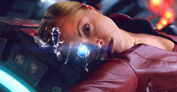 Kristianna Loken as the robot T-X in Terminator 3  Rise of the Machines