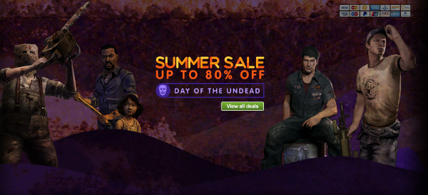 First day of GmG's Summer Sale is all about Zombies